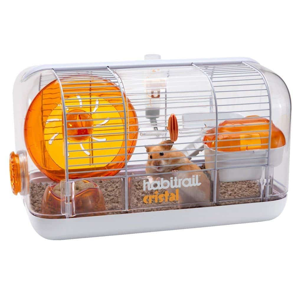 Cage habitrail cristal hamster