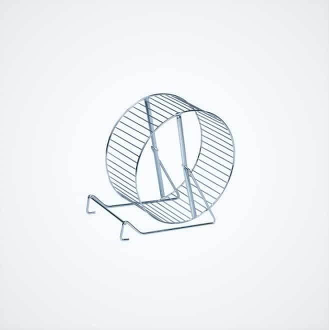 roue hamster metallique