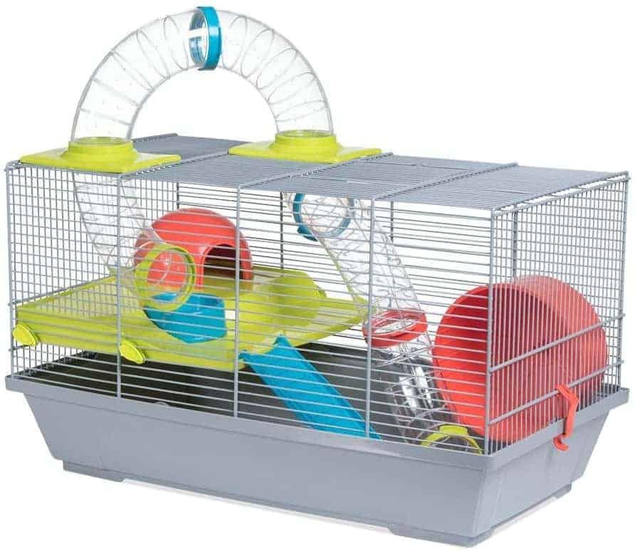 cage hamster avec tuyaux